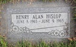Henry Alan Hislop