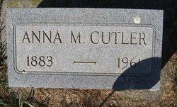 Anna M <i>Harnack</i> Cutler