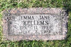 Emma Jane <i>Sigler</i> Kellems