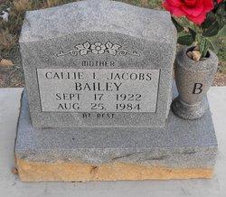 Callie L <i>Jacobs</i> Bailey