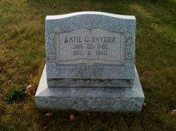 Katie C <i>Rausch</i> Snyder
