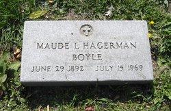 Maude L. <i>Hagerman</i> Boyle