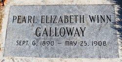 Pearl Elizabeth <i>Winn</i> Galloway