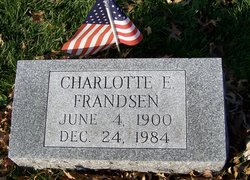 Charlotte <i>Shanley</i> Frandsen