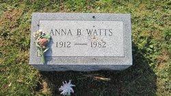 Anna Belle <i>Blackburn</i> Watts