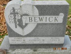 Anthony M Bewick