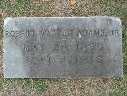 Robert Warren Adams, Jr