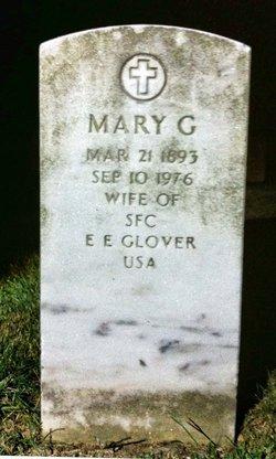 Mary E. <i>Green</i> Glover