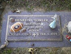 PFC Henry Homer HJ Fowler, Jr