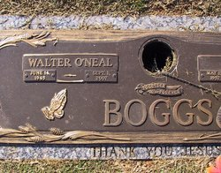 Walter O'Neal Boggs