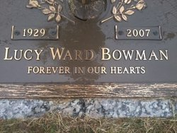 Lucy Lucille <i>Ward</i> Bowman