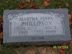 Martha Lucia <i>Cobb</i> Phillipson