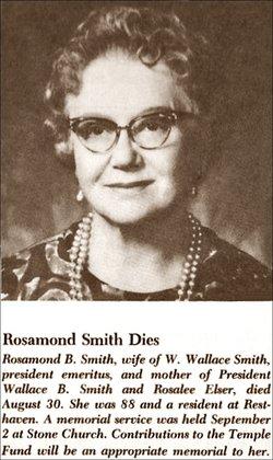 Rosamond <i>Bunnell</i> Smith