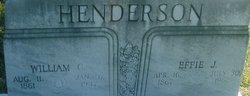 Effie J <i>Keller</i> Henderson