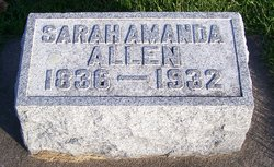Sarah Amanda <i>Allen</i> Coffin