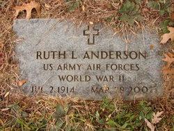 Ruth L <i>Honaker</i> Anderson