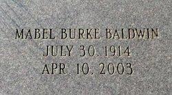 Mabel <i>Burke</i> Baldwin