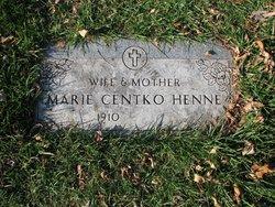 Marie <i>Dettloff</i> Henne