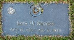 Leatie Odessa Leta <i>Newnom</i> Brown