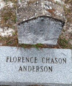 Florence <i>Chason</i> Anderson
