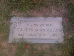 Gladys Marie <i>Justice</i> Anderson