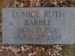 Eunice Ruth Barbee