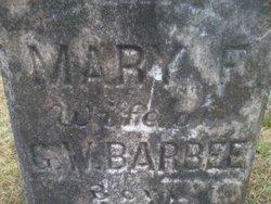 Mary F. Barbee