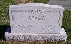 Alice Merriam <i>Bevan</i> Adams