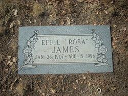 Effie Rosa <i>Broyles</i> James
