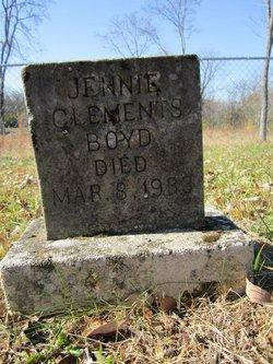 Jennie <i>Clements</i> Boyd