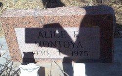 Alice F. Montoya