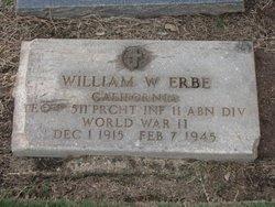 PFC William Wallace Erbe