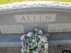 Josiah Joe Allen