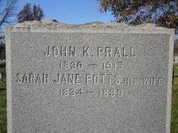 Sarah Jane <i>Potts</i> Prall