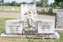 Aaron Walker Johnson, Sr