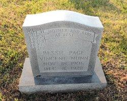Bessie Page <i>Vincent</i> Nunn