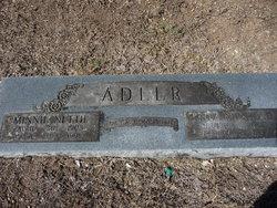 Minnie Nettie <i>Gourley</i> Adler