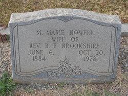 M Marie <i>Howell</i> Brookshire