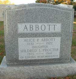 Alice P Abbott