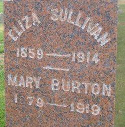 Mary E Mamie <i>Sullivan</i> Burton