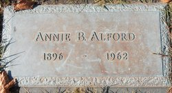 Annie <i>Byers</i> Alford