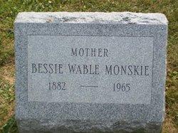 Bessie <i>Wable</i> Monskie