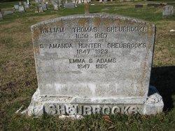Emma <i>Sheubrooks</i> Adams