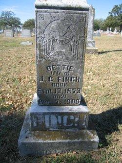 Elizabeth Bettie <i>Stokes</i> Finch