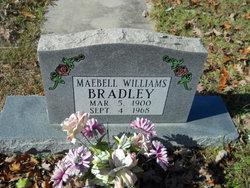 Maebell <i>Williams</i> Bradley