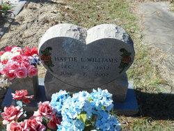 Hattie L Williams