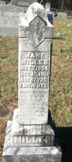 Jane <i>Burgess</i> Miller