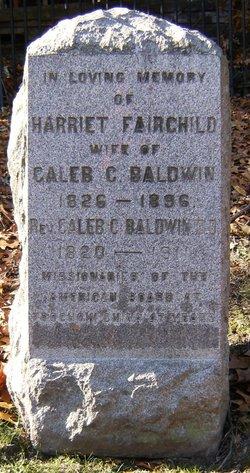 Rev Caleb C Baldwin