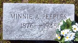 Minnie Alice Peeples