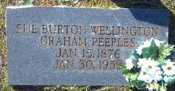 Sue Burton Wellington <i>Graham</i> Peeples